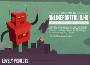 Fooldal Online Porfolio