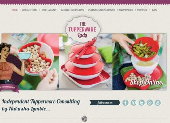 Tupperware Lady