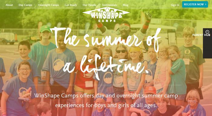 WinShape Camps